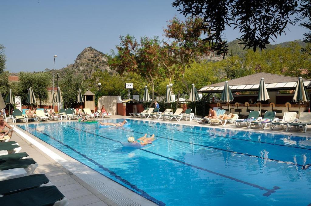 The swimming pool at or near Belcekiz Beach Club - All Inclusive