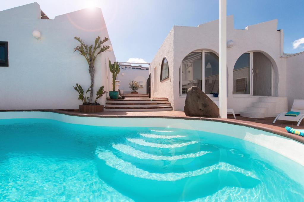 Villa Beach House at Playa del Hombre (Spanje Telde ...