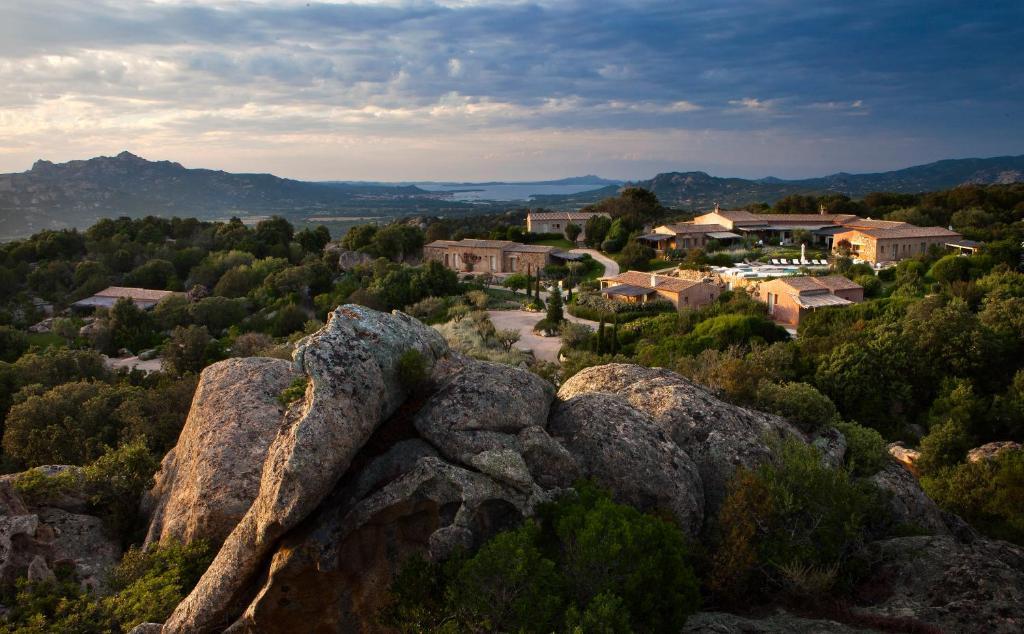 A bird's-eye view of Petra Segreta Resort & Spa