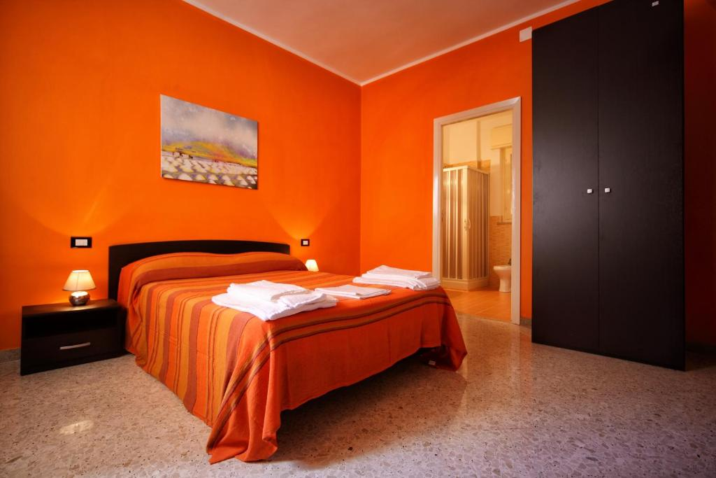 A bed or beds in a room at B&B Dimora Del Principe