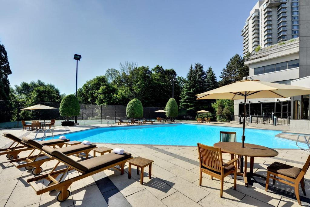 The swimming pool at or near The Westin Prince Toronto