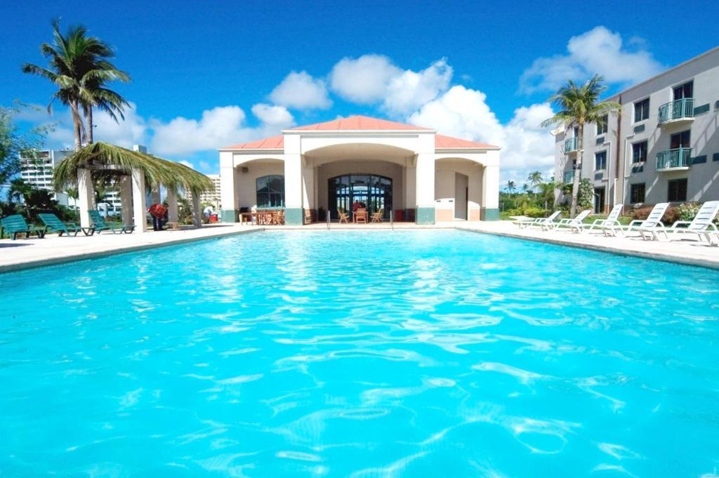 The swimming pool at or near Garden Villa Hotel