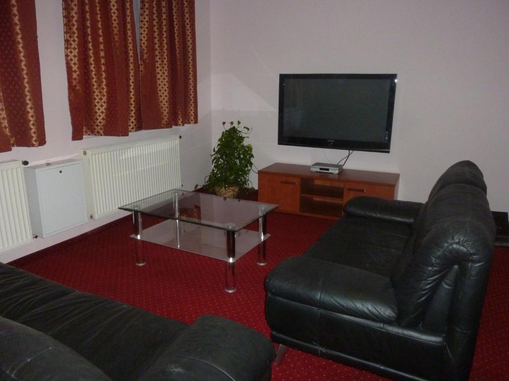 Posezení v ubytování Apartment Karlovy Vary