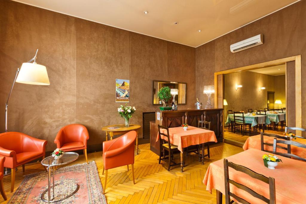 Restaurant ou autre lieu de restauration dans l'établissement Hotel Du Nord