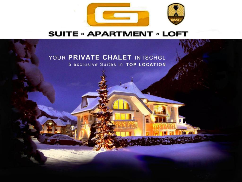 Grütter Luxury Apartments during the winter