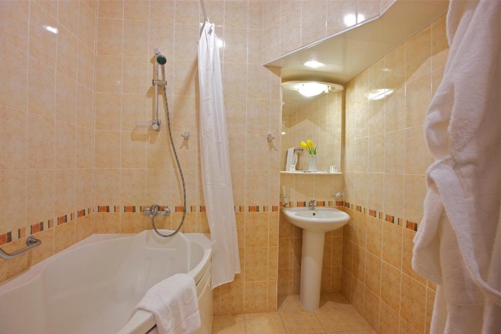 Ванная комната в Санаторий «Металлург»