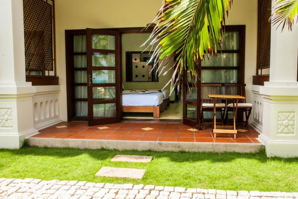 Phòng Gia đình Nhìn ra Vườn