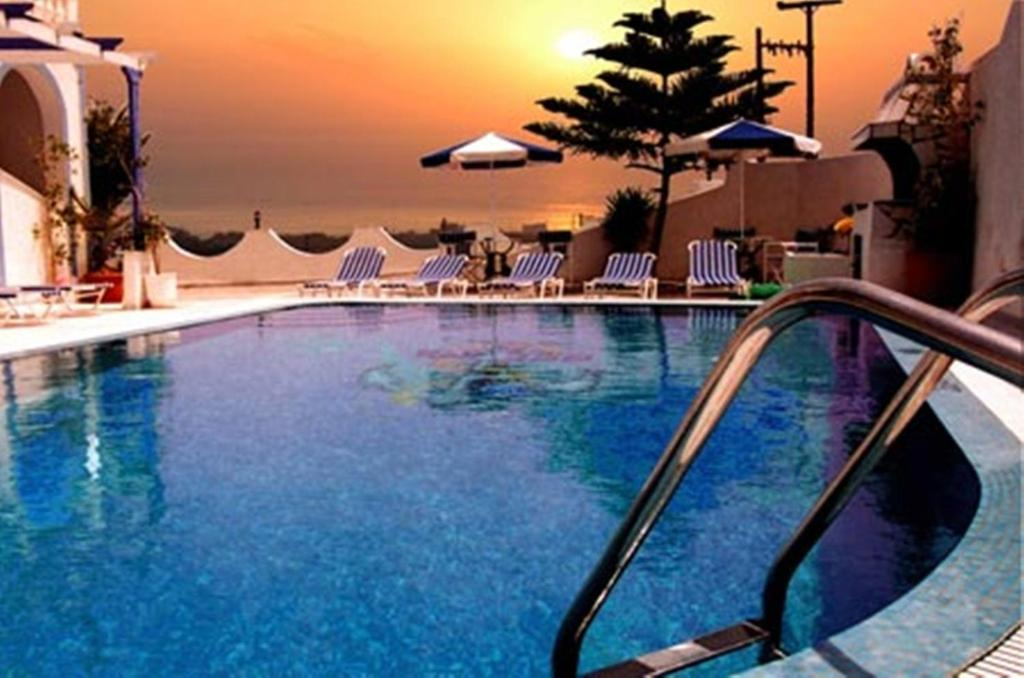The swimming pool at or near Stavros Villas