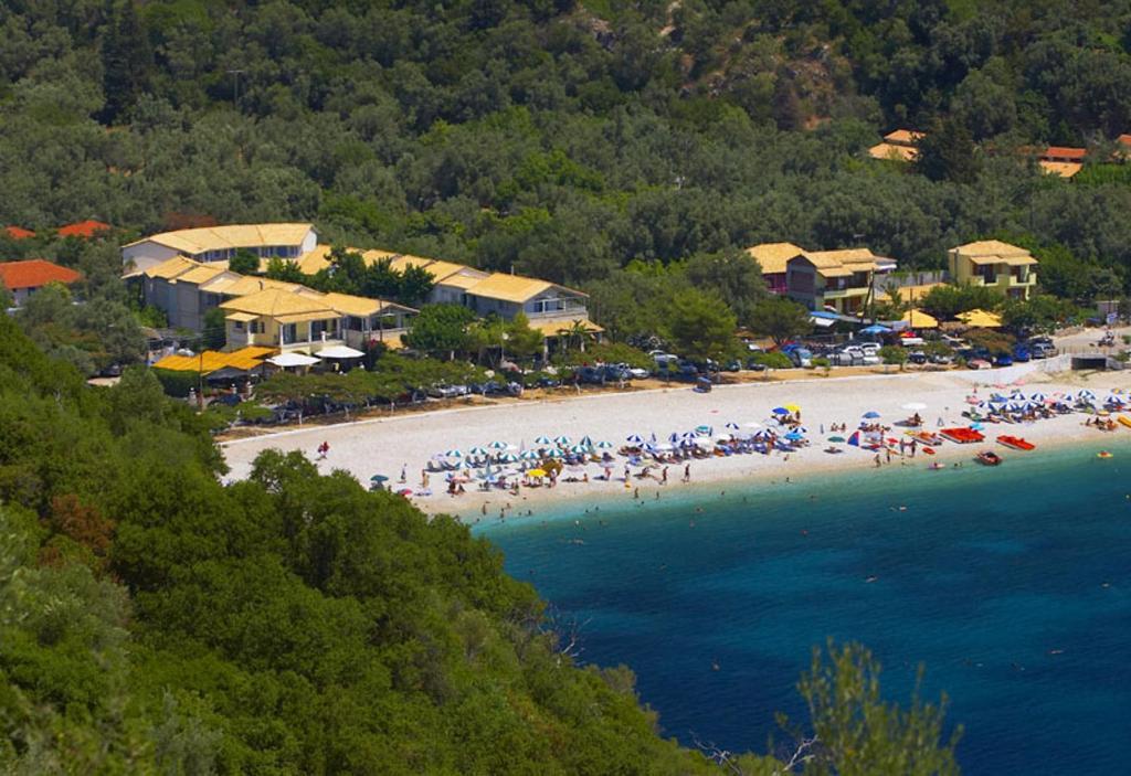 A bird's-eye view of Rouda Bay Beach Hotel