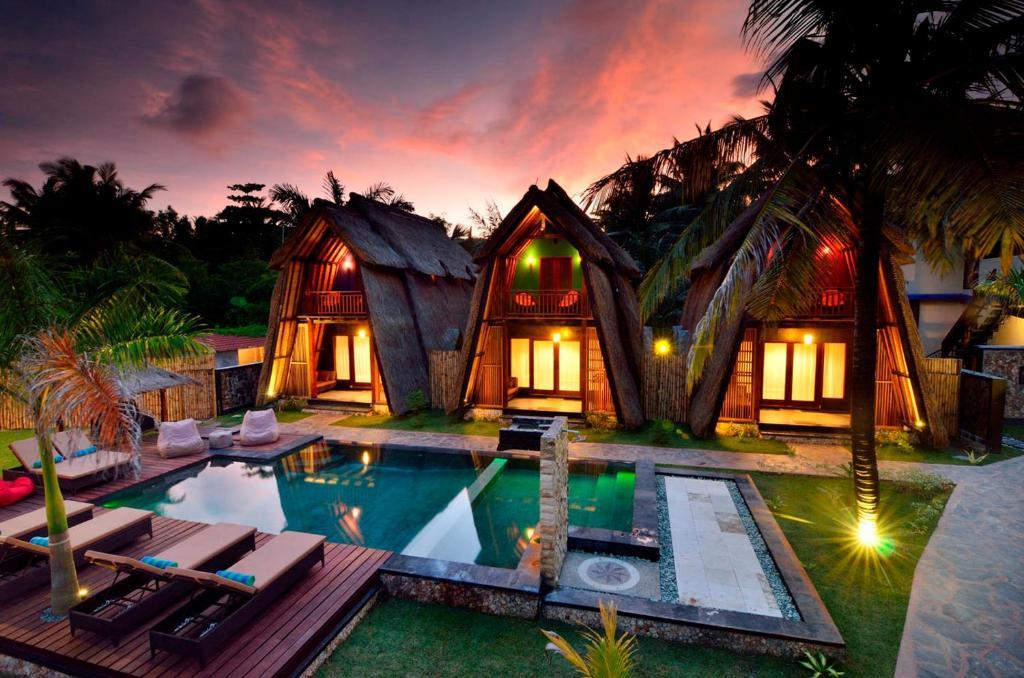 The swimming pool at or close to Kies Villas Lombok