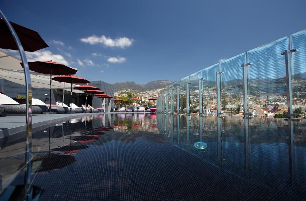 The swimming pool at or near The Vine Hotel