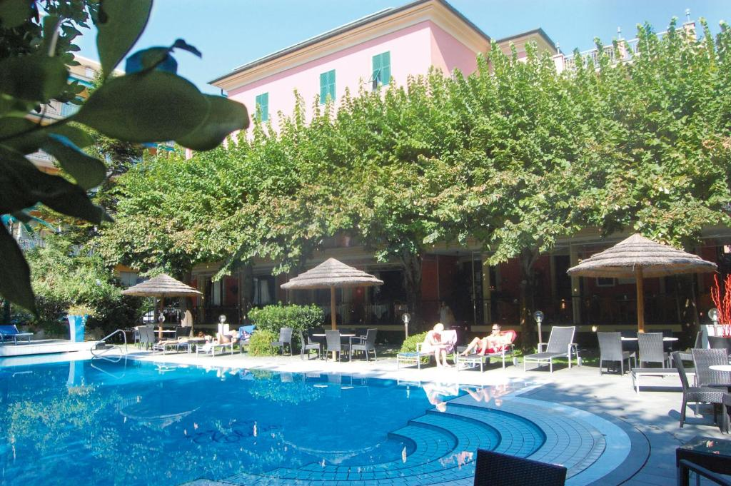 The swimming pool at or near Hotel Clelia