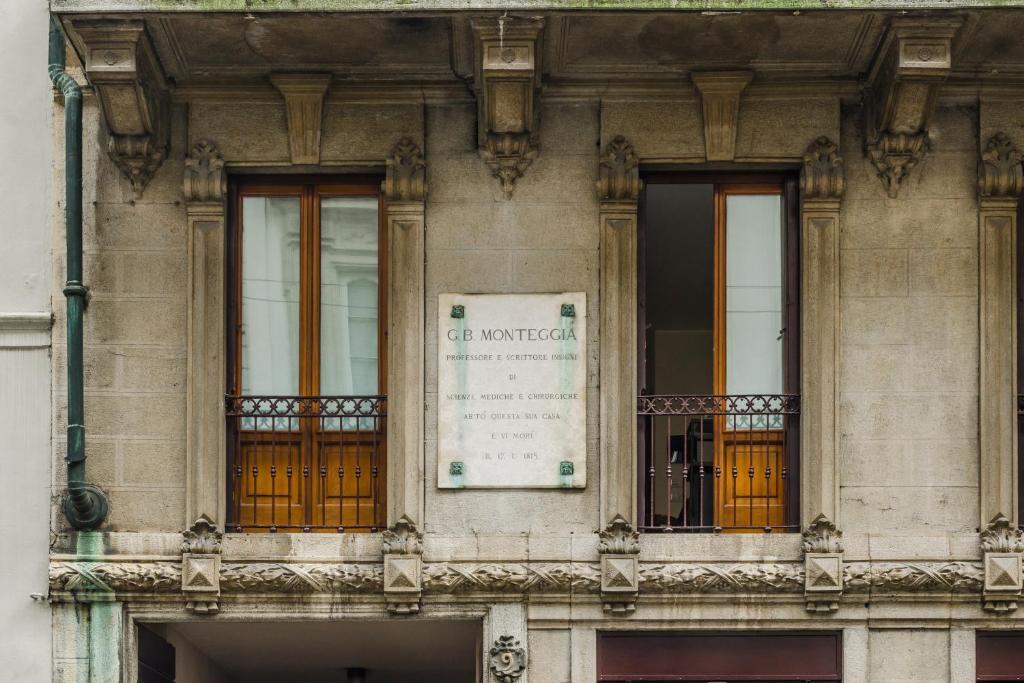 The facade or entrance of Ca' Monteggia Guest House