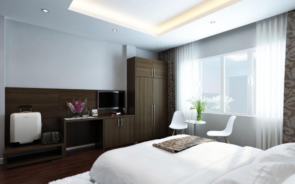 Phòng Executive Giường Đôi/2 Giường Đơn Với Tầm Nhìn Ra Thành Phố