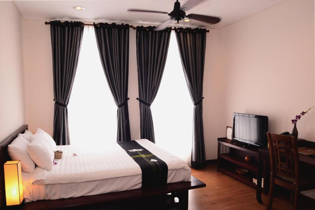 Phòng 2 Giường Đơn Nhìn Ra Thành Phố