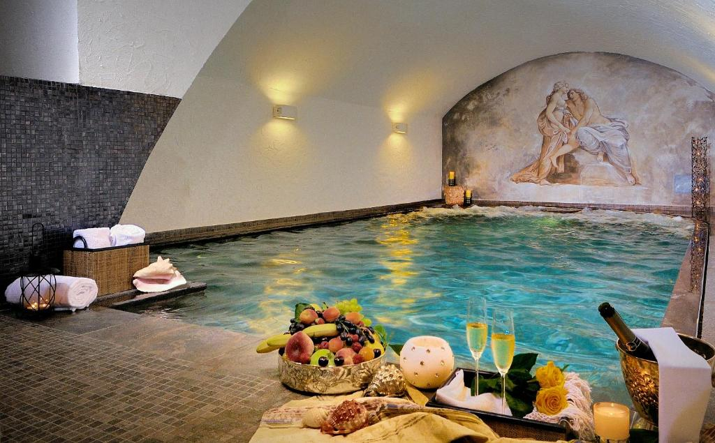 The swimming pool at or near Hotel Antica Porta Leona & SPA