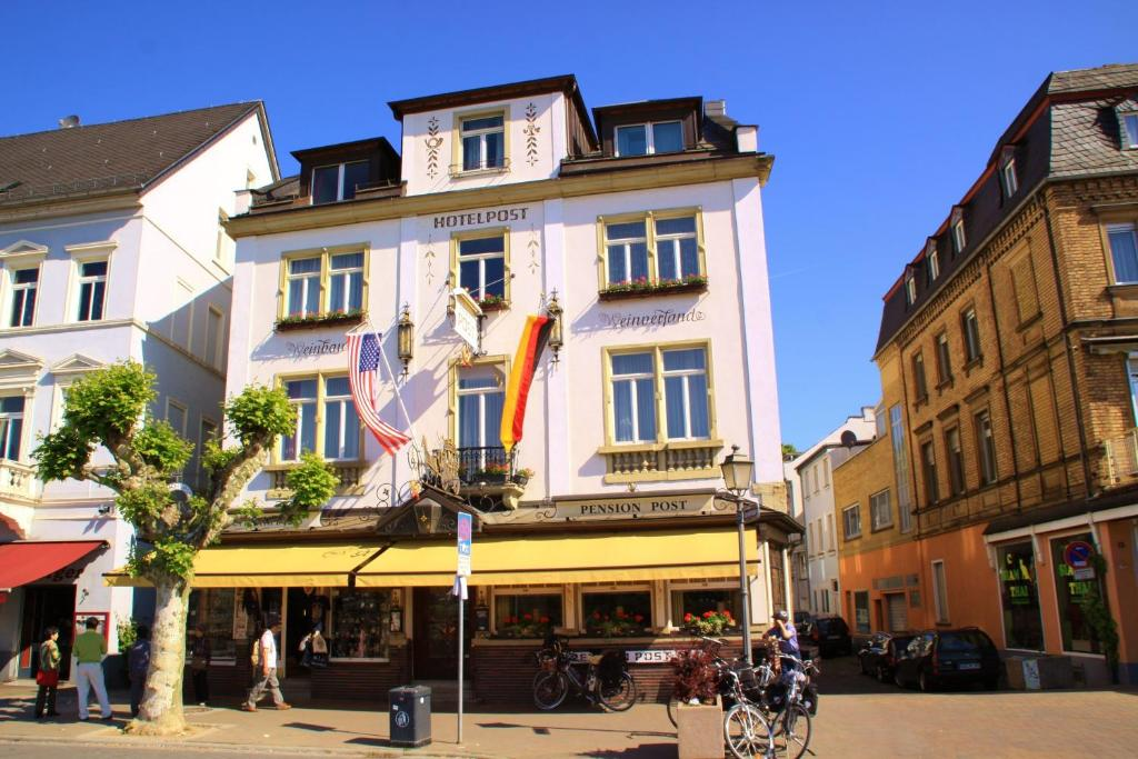 Pension Post Rüdesheim Rüdesheim Am Rhein Updated 2019 Prices
