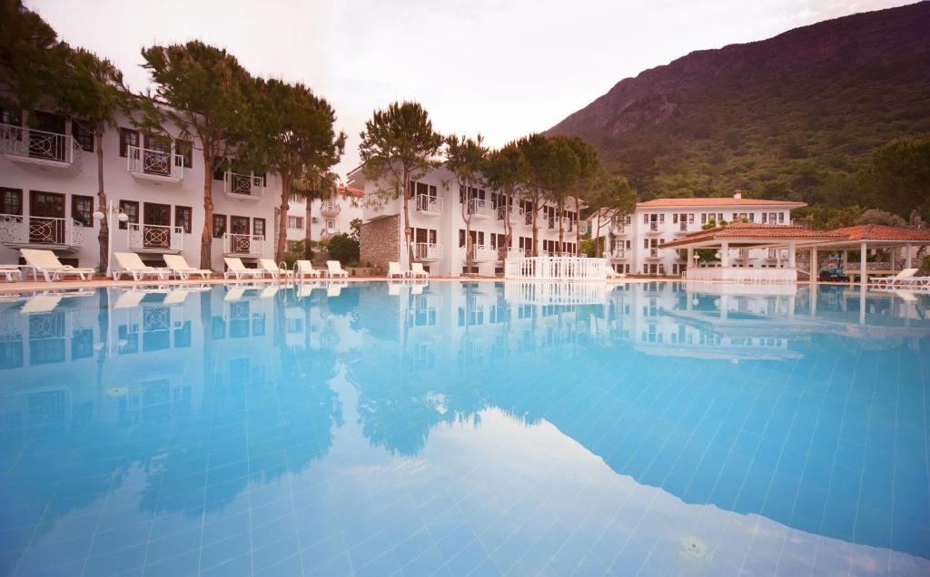 The swimming pool at or near White Hotel