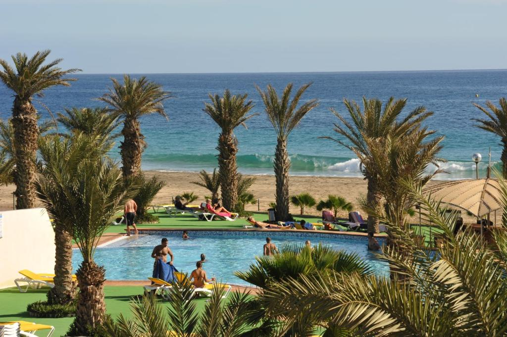 A view of the pool at Flag Hotel Foya Branca or nearby