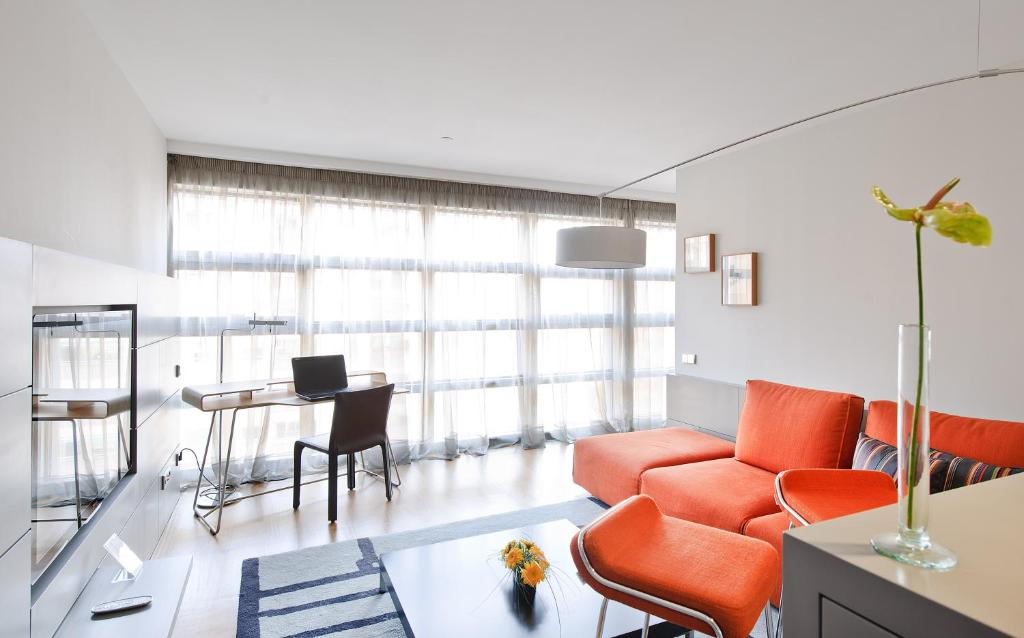 منطقة جلوس في فندق رينا بترونيلا