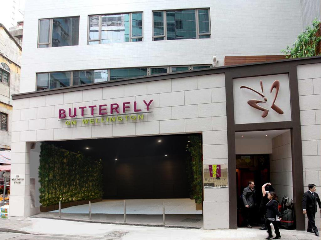 The facade or entrance of Butterfly on Wellington Boutique Hotel Central