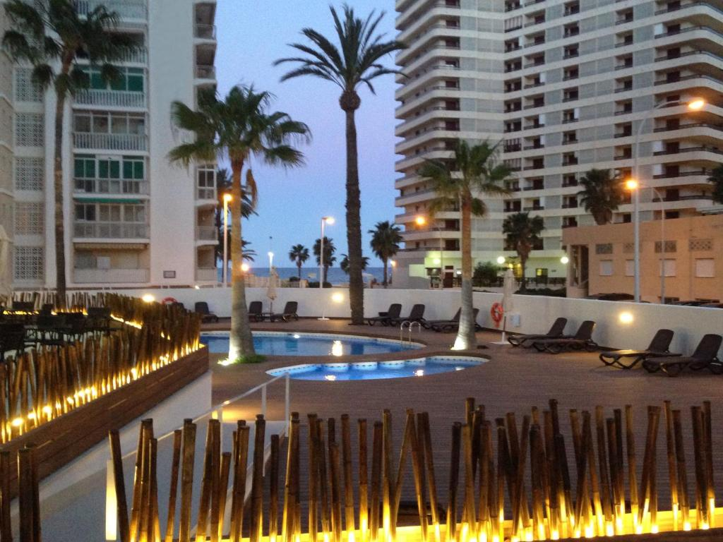 The swimming pool at or near Hotel Santamarta