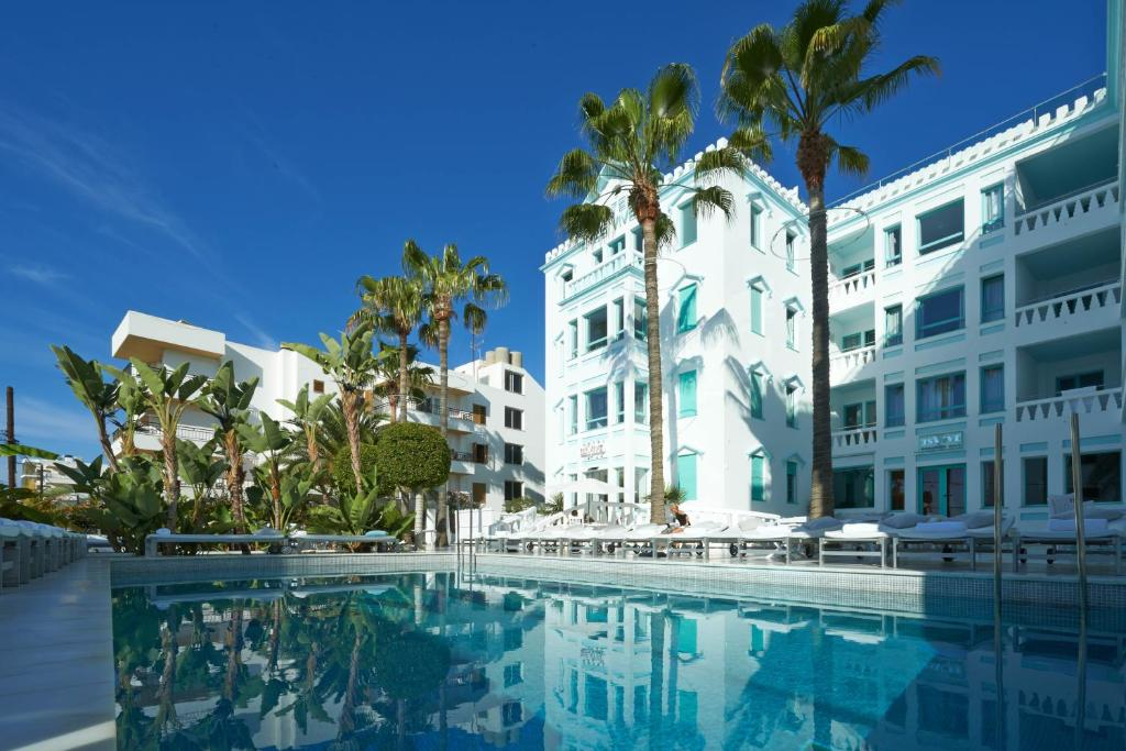 The swimming pool at or near Hotel MiM Ibiza Es Vive - Adults Only