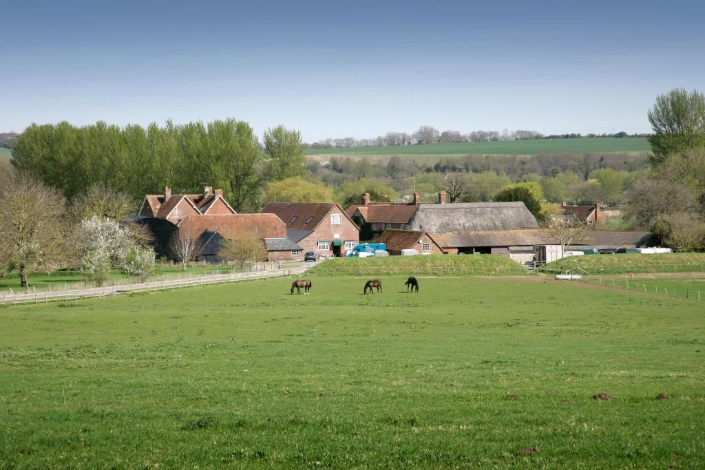 Bridge Farmhouse and Old Stables in Salisbury, Wiltshire, England