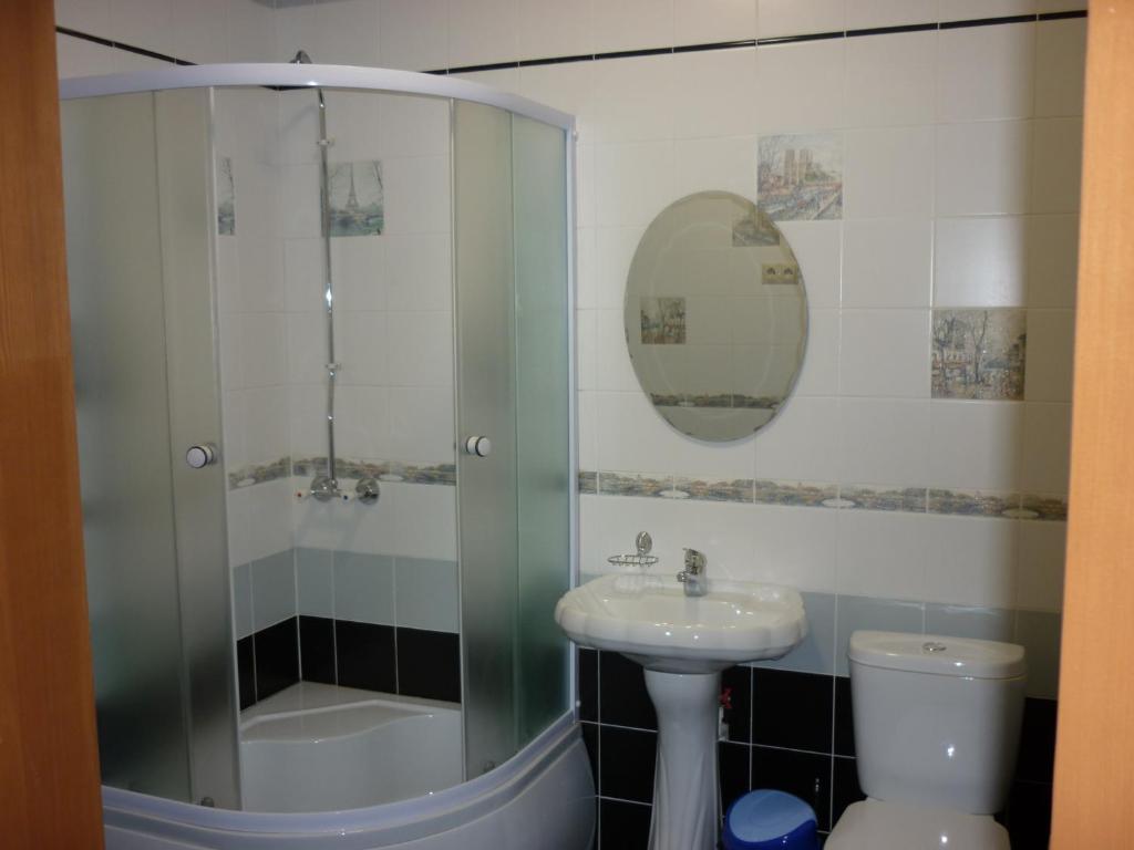 Ванная комната в Райская Лагуна Омск
