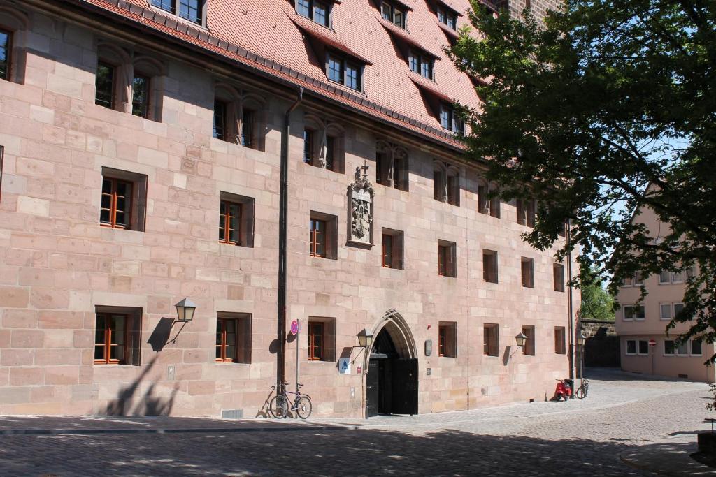 Jugendherberge Nürnberg - Youth Hostel during the winter