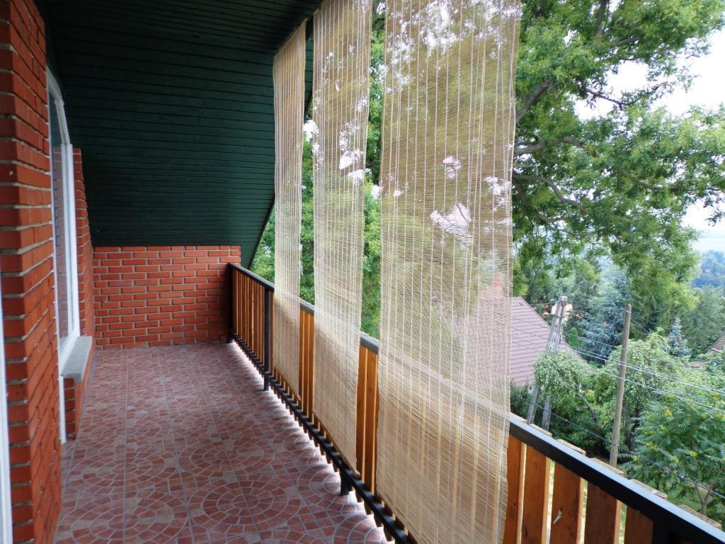 Balkón nebo terasa v ubytování Traumblick Appartement am Balaton