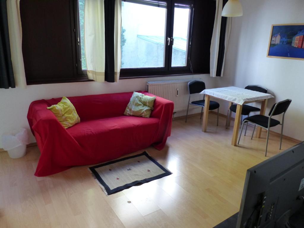Ein Sitzbereich in der Unterkunft Apartment Danhauser