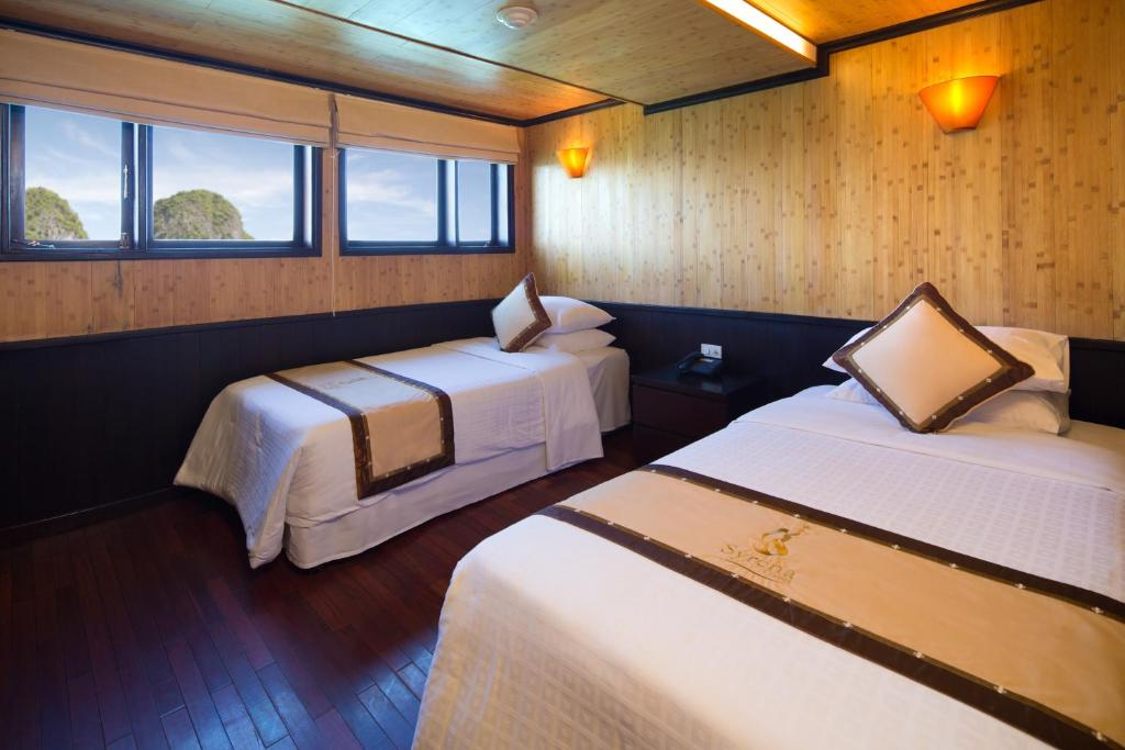 Phòng Deluxe Giường đôi hoặc 2 Giường đơn Nhìn ra Đại dương - 3 Ngày 2 Đêm