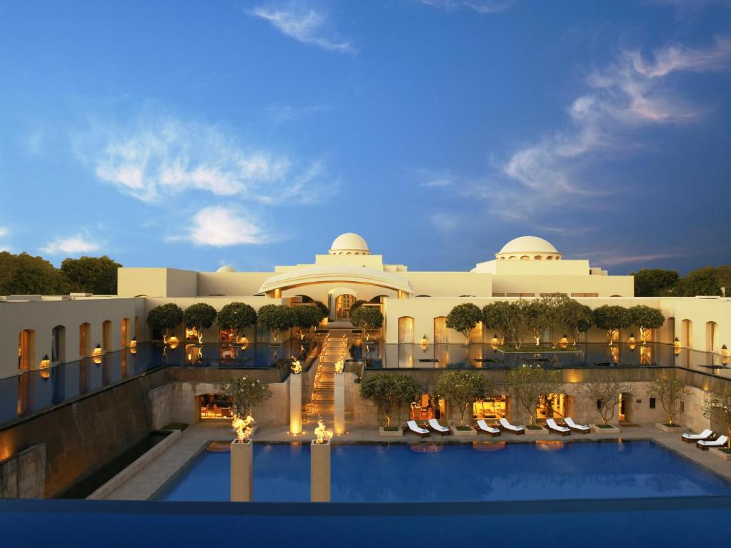 The swimming pool at or near Trident Gurgaon