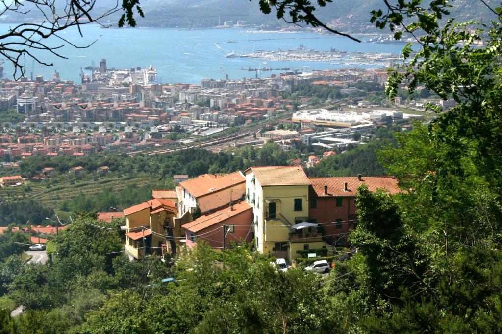 Een luchtfoto van Casa Flora