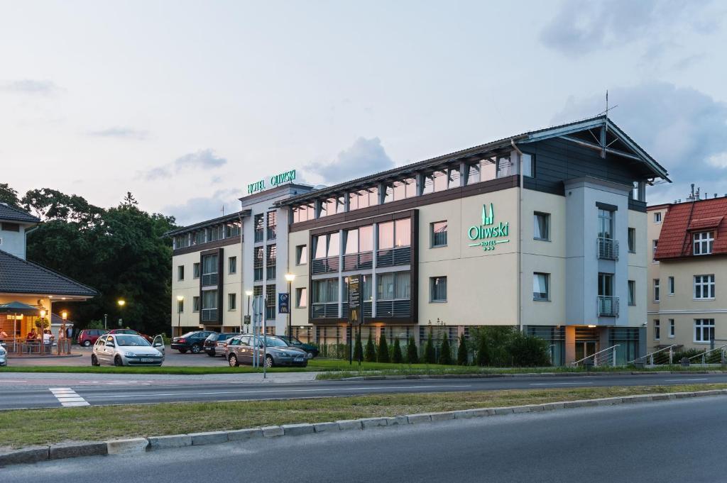 Budynek, w którym mieści się hotel