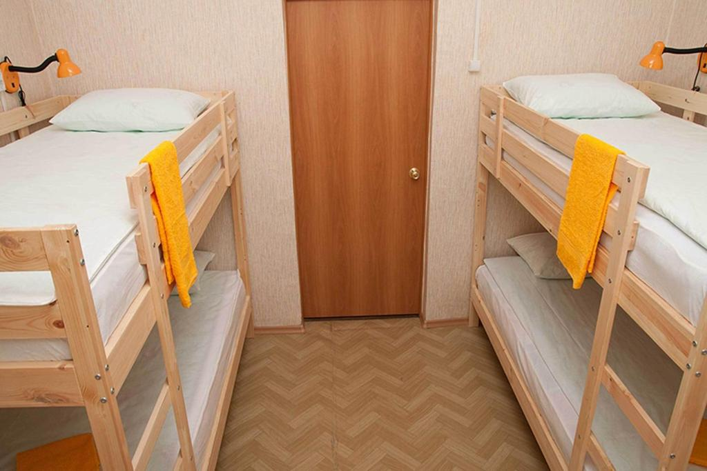 A bunk bed or bunk beds in a room at Hostel Yoshkin Kot