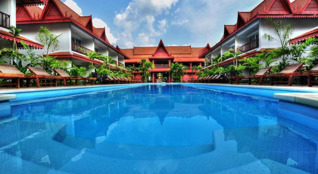 The swimming pool at or near Preah Vihear Boutique Hotel