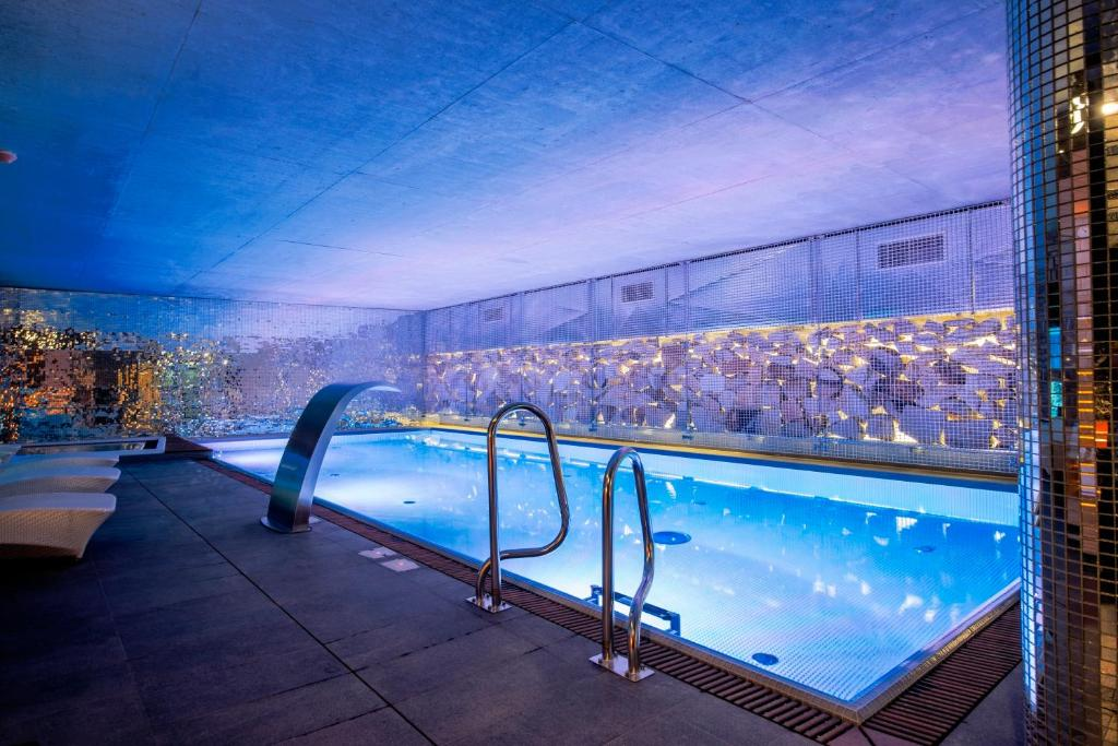 בריכת השחייה שנמצאת ב-Hotel Alter או באזור
