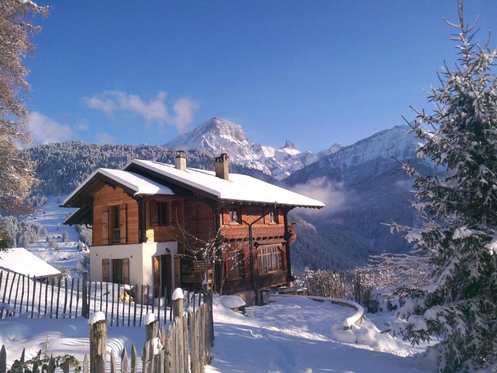Chalet Valerie im Winter
