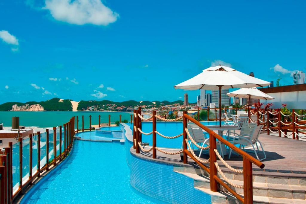 The swimming pool at or near Pontalmar Praia Hotel