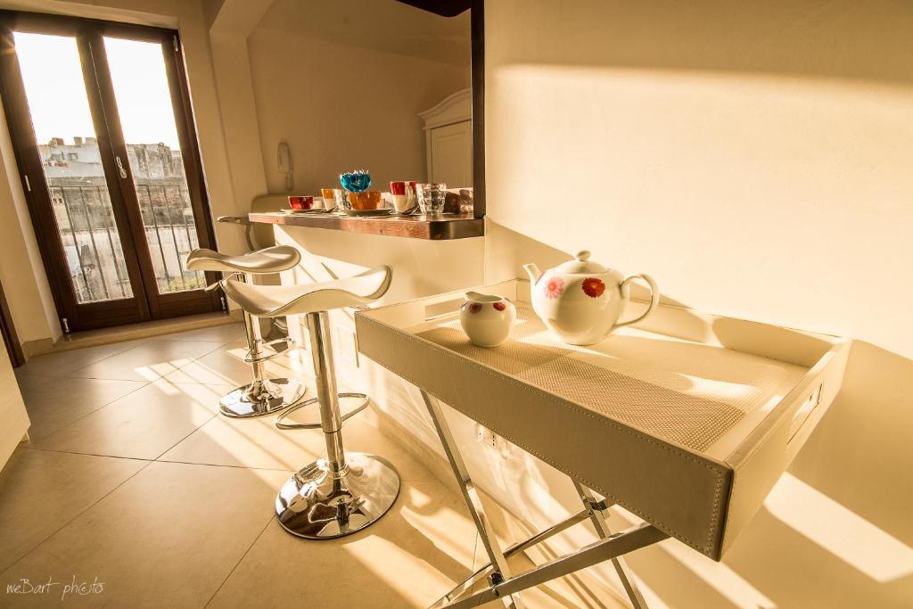 A bathroom at Camenae B&B Grottaglie