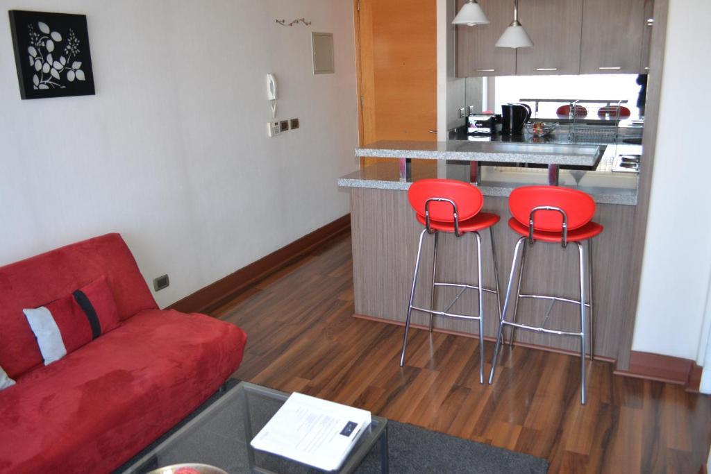 Una cocina o zona de cocina en My Aparts SCL