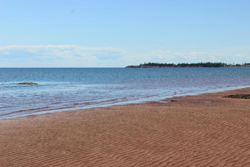 A beach at or near the holiday park