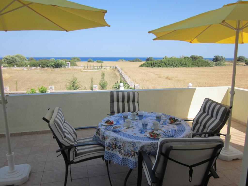 Balkón nebo terasa v ubytování Sunshine Villa