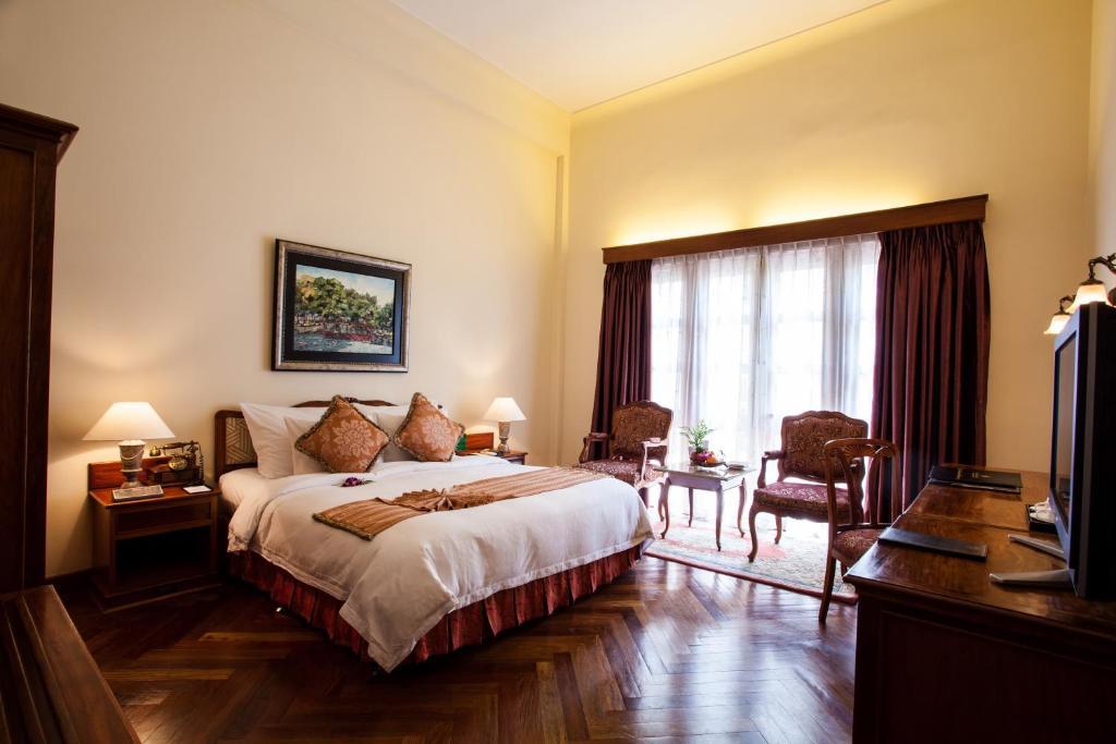 Phòng Colonial Deluxe Đôi hoặc 2 Giường đơn nhìn ra Thành phố