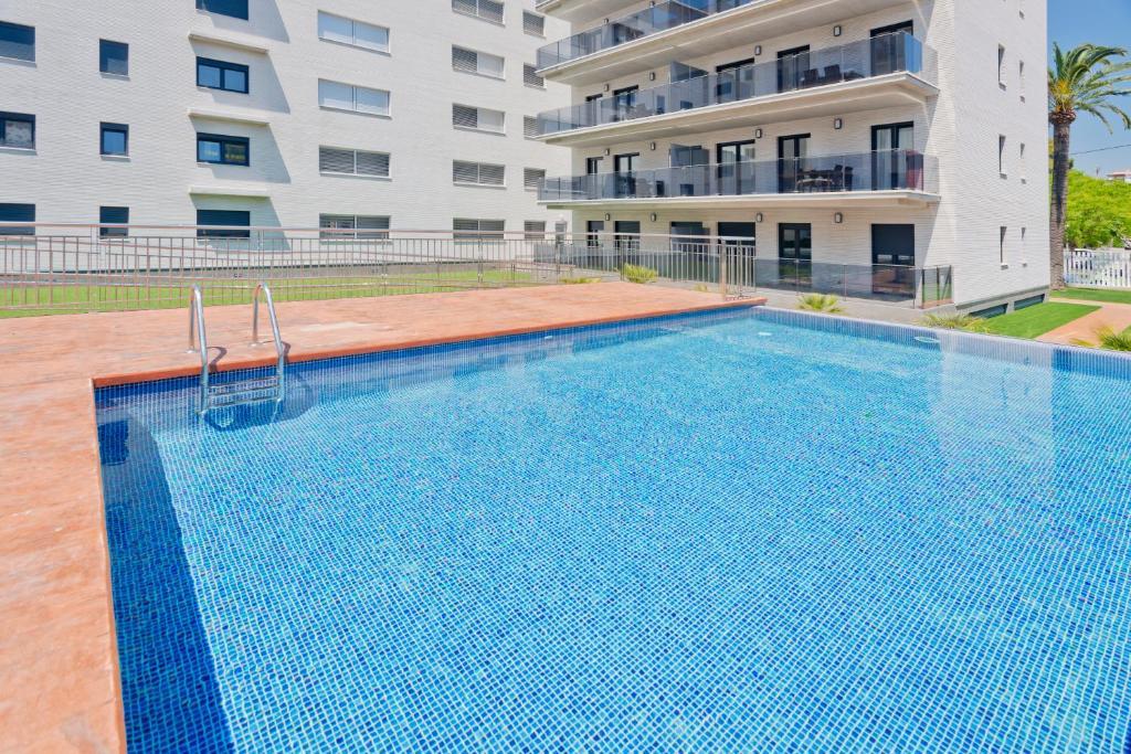 The swimming pool at or near Apartamentos Norte 14