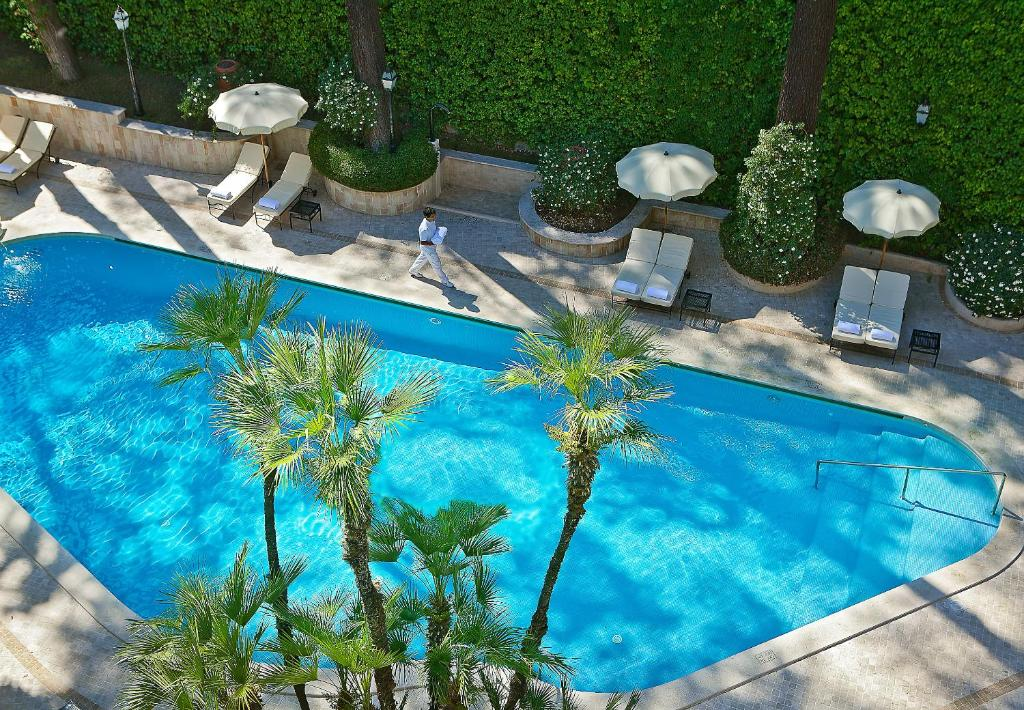 A view of the pool at Aldrovandi Villa Borghese - The Leading Hotels of the World or nearby