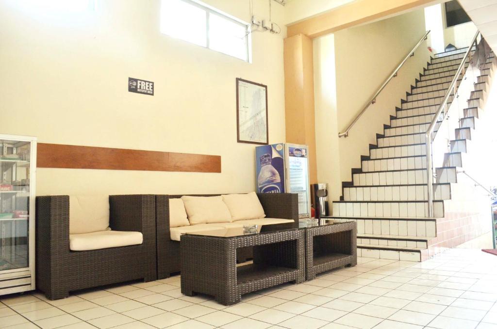 Χώρος καθιστικού στο Hotel Sumber Waras