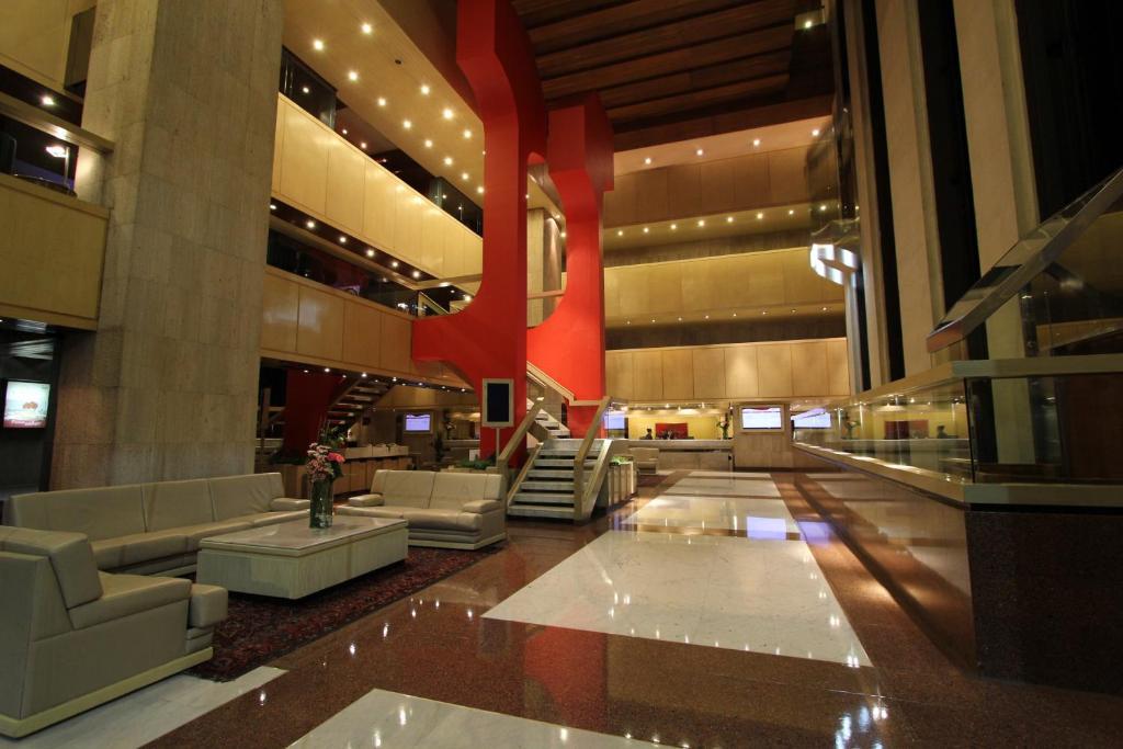 The lobby or reception area at Sevilla Palace